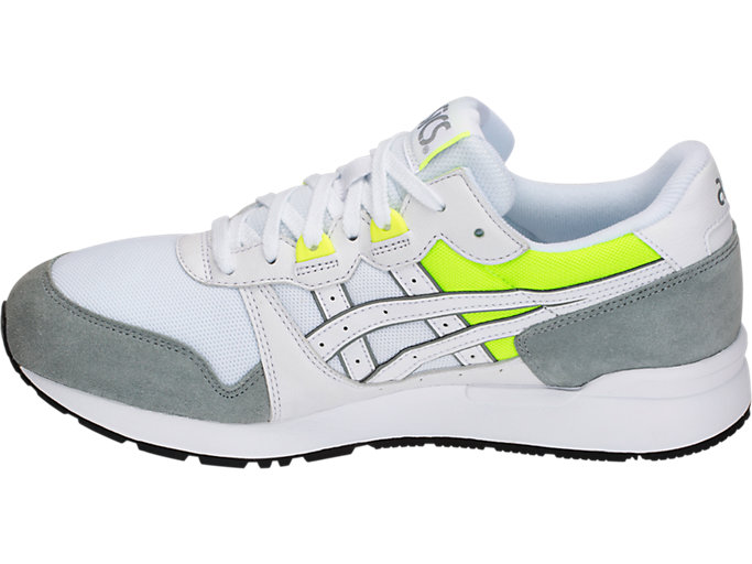 Left side view of GEL-LYTE, WHITE/STONE GREY