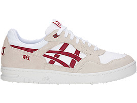 GEL-CIRCUIT, WHITE/BURGUNDY