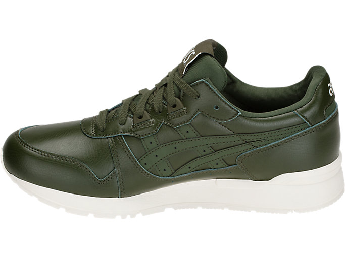 Left side view of GEL-LYTE, FOREST/FOREST