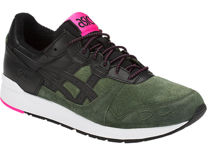 Front Right view of GEL-LYTE, FOREST/BLACK