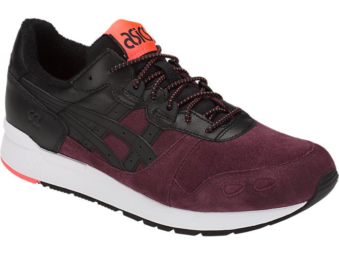 Front Right view of GEL-LYTE, PORT ROYAL/BLACK