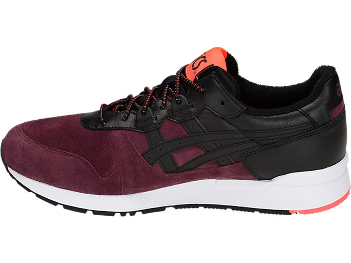 Left side view of GEL-LYTE, PORT ROYAL/BLACK