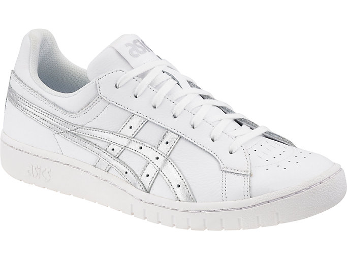 Front Right view of GEL-PTG, WHITE/SILVER