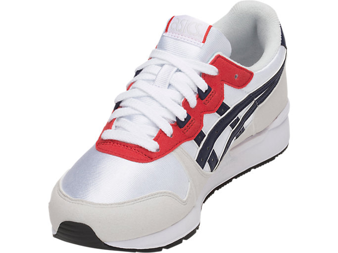 Front Left view of GEL-LYTE GS, WHITE/PEACOAT