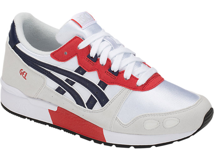 Front Right view of GEL-LYTE GS, WHITE/PEACOAT