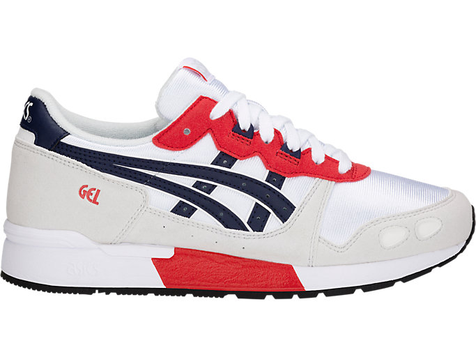 Right side view of GEL-LYTE GS, WHITE/PEACOAT