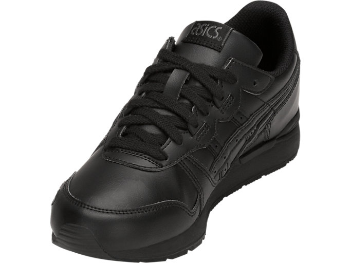Front Left view of GEL-LYTE GS, BLACK/BLACK