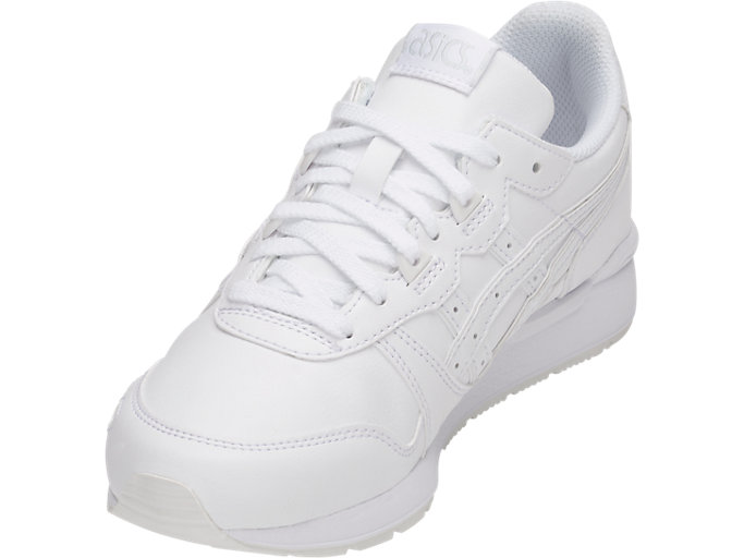 Front Left view of GEL-LYTE GS, WHITE/WHITE