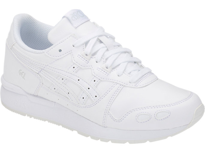 Front Right view of GEL-LYTE GS, WHITE/WHITE
