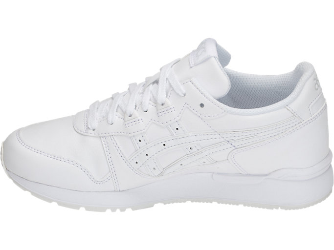 Left side view of GEL-LYTE GS, WHITE/WHITE