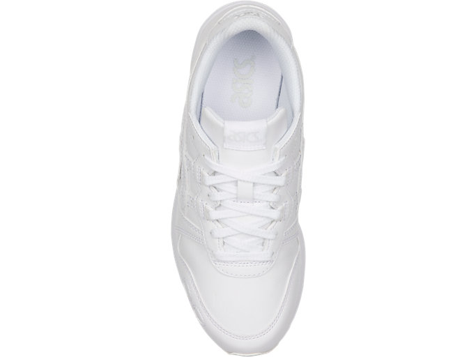 Top view of GEL-LYTE GS, WHITE/WHITE
