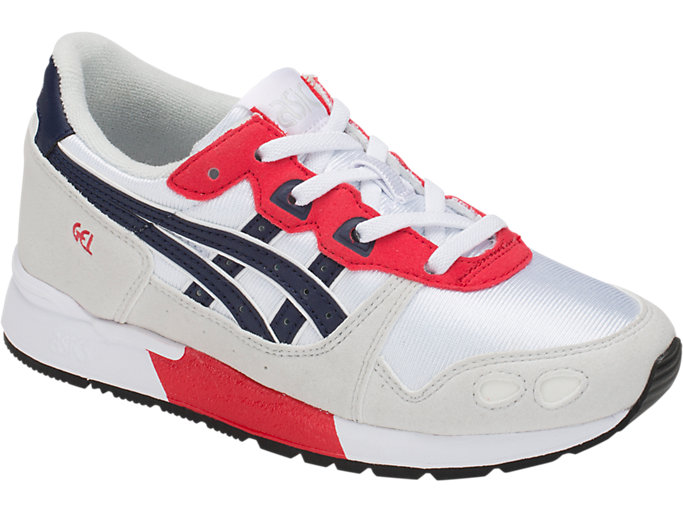 Front Right view of GEL-LYTE PS, WHITE/PEACOAT