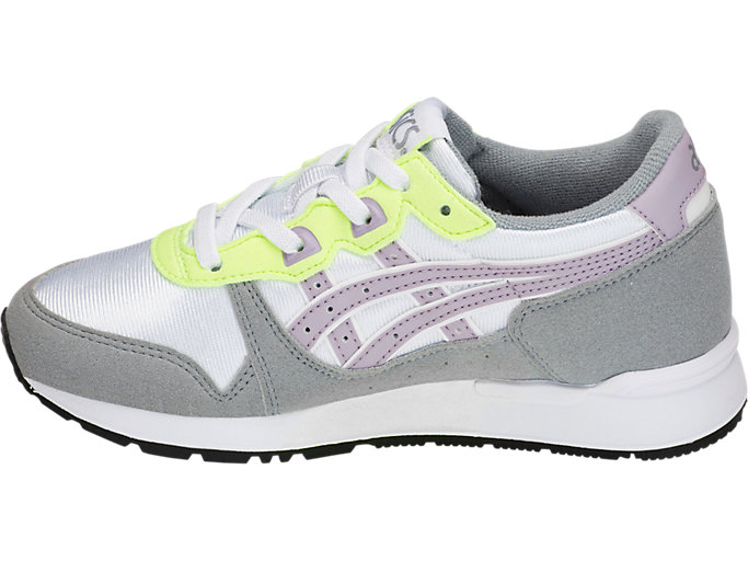 Left side view of GEL-LYTE PS, WHITE/SOFT LAVENDER