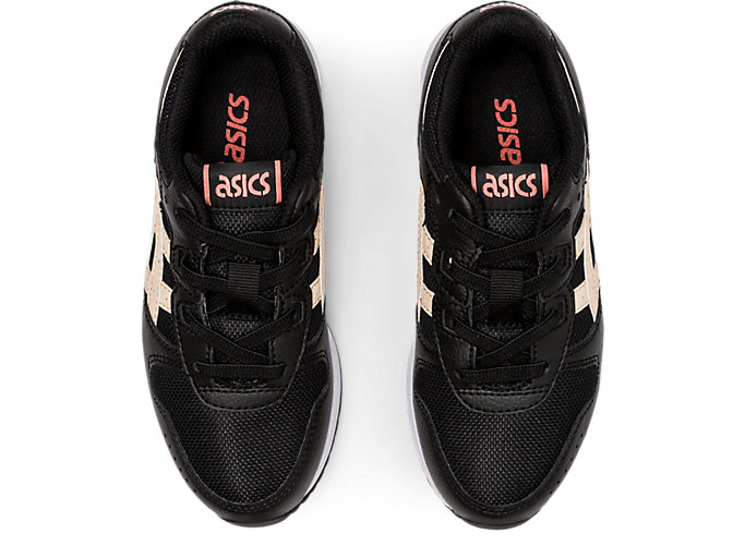 Top view of LYTE CLASSIC PS, BLACK/COZY PINK