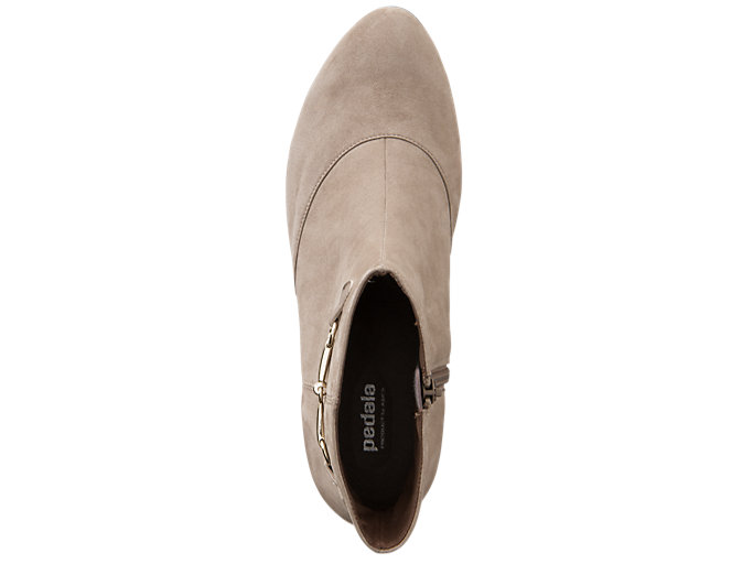 Top view of PEDALA WC021A 2E, TAUPE GREY