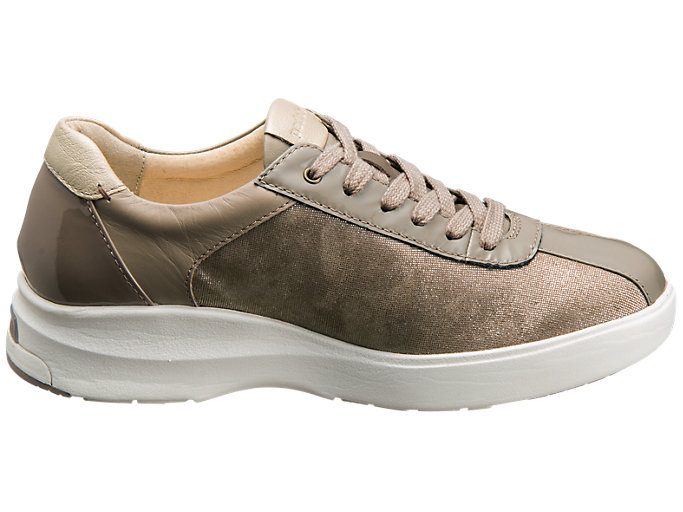 Front Left view of PEDALA WC023A 2E, TAUPE GREY