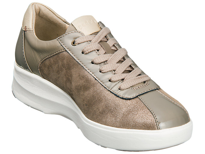 Front Right view of PEDALA WC023A 2E, TAUPE GREY