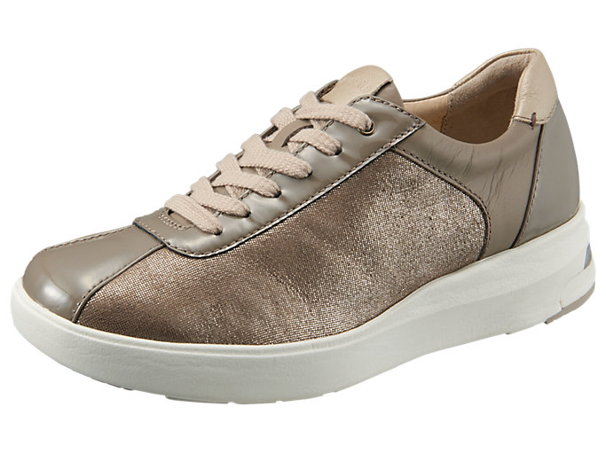 Right side view of PEDALA WC023A 2E, TAUPE GREY