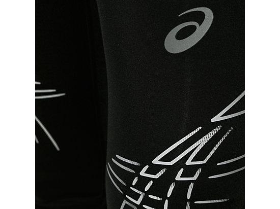 STRIPE KNEE TIGHT Performance Black/Silver 11
