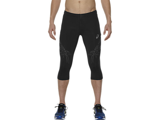 STRIPE KNEE TIGHT BALANCE BLACK 3
