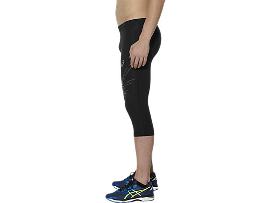 STRIPE KNEE TIGHT BALANCE BLACK 7
