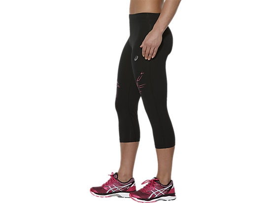 STRIPE KNEE TIGHT PERFORMANCE BLACK/CAMELION ROSE 7
