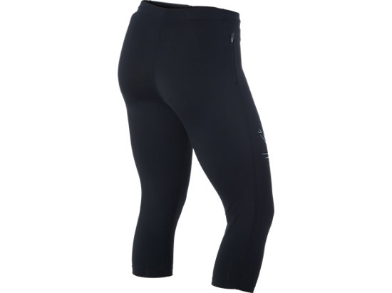 Stripe Knee Tight Performance Black/Kingfisher 7