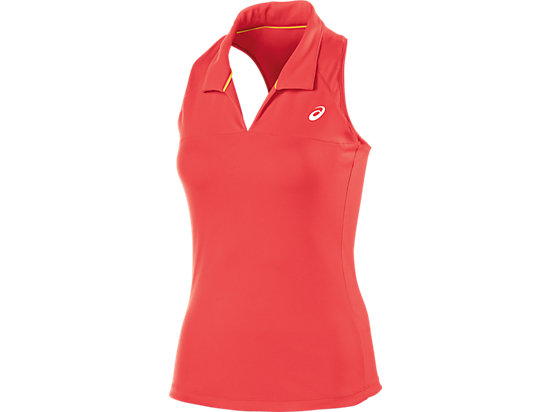 Club Racerback Sleeveless Polo Coralicious 3