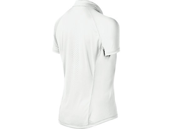 Club Short Sleeve Polo Real White 7