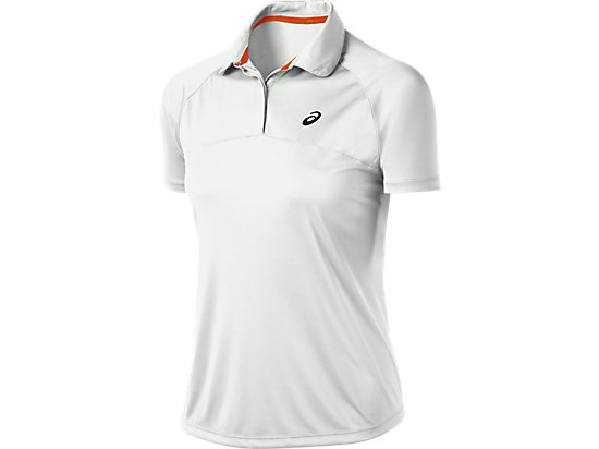 Club Short Sleeve Polo Real White 3