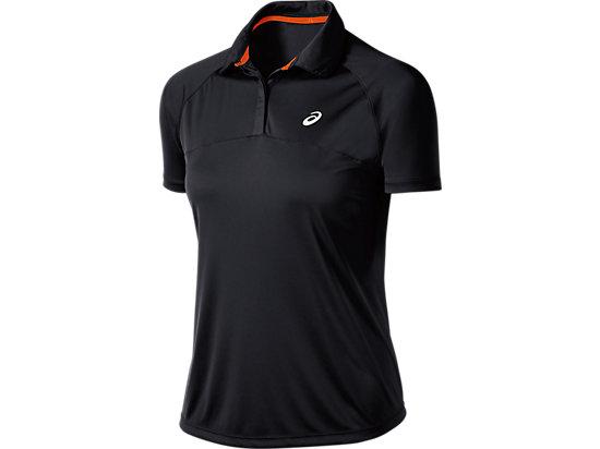 Club Short Sleeve Polo Performance Black 3