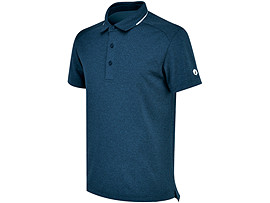 MENS TRAINING SOLID POLO T