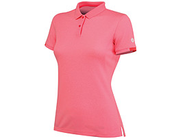 WOMENS TRAINING SOLID POLO T
