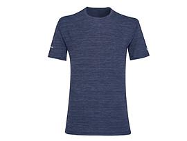 남성 러닝 헤더 반팔 티셔츠