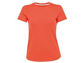 여성 러닝 헤더 반팔 티셔츠