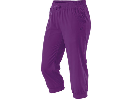 Styled Woven Capri Purple Magic 3