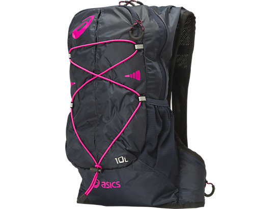 Lightweight Running Backpack (10L) Dark Cobalt/ Pink Glow 3
