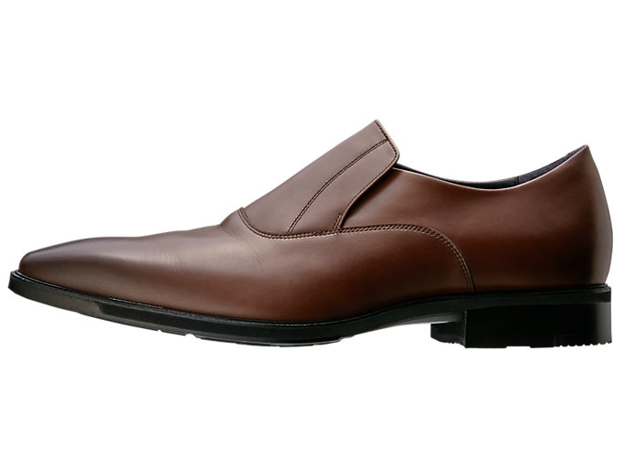 Left side view of RUNWALK MB027B 3E, BROWN