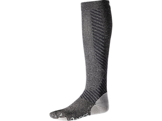 COMPRESSION SUPPORT SOCK, Dark Grey Heather
