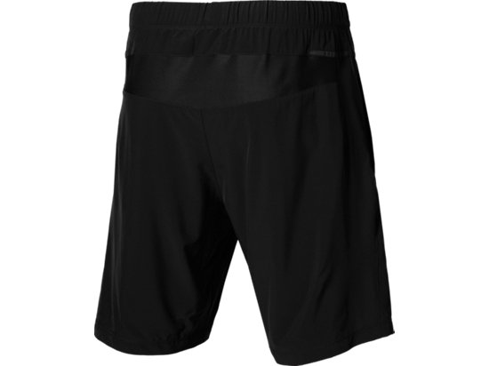 WOVEN SHORT 9IN Performance Black/Dark Grey 11