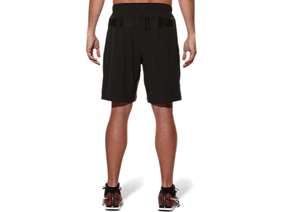 WOVEN SHORT 9IN Performance Black/Dark Grey 7
