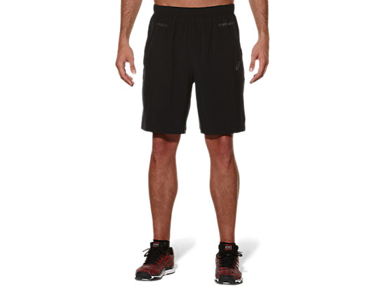 WOVEN SHORT 9IN Performance Black/Dark Grey 3