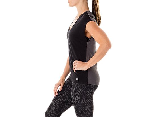 Fit-Sana Reversible Short Sleeve Dark Grey/Performance Black 15