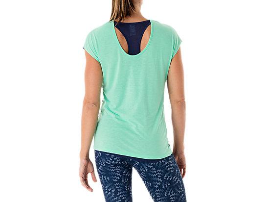Fit-Sana Reversible Short Sleeve Aqua Mint/Indigo Blue 7