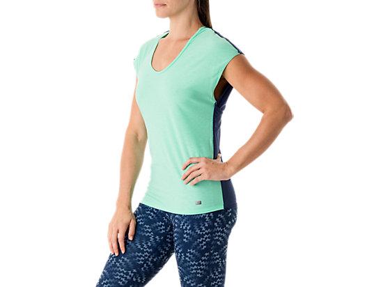 Fit-Sana Reversible Short Sleeve Aqua Mint/Indigo Blue 23