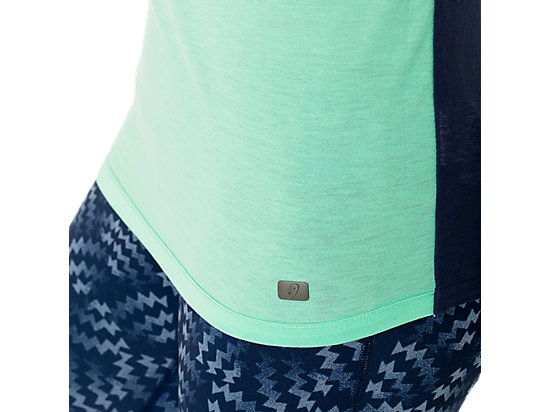 Fit-Sana Reversible Short Sleeve Aqua Mint/Indigo Blue 35