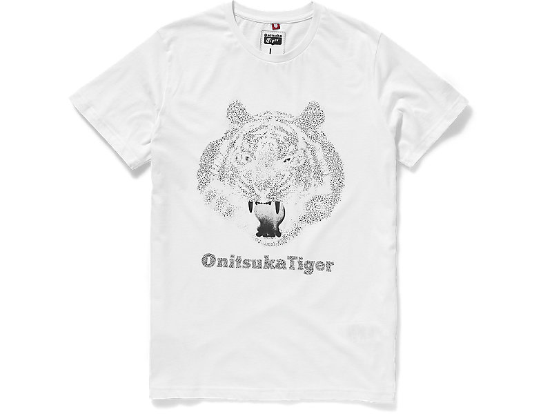 UNIVERSAL TIGER HEAD TEE WHITE 1