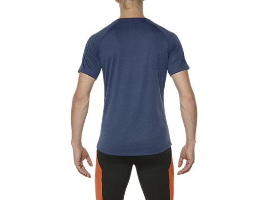 T-SHIRT DE COURSE ASICS MC POSEIDON HEATHER 11