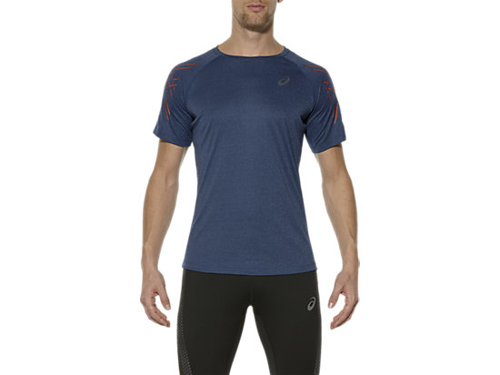 T-SHIRT DE COURSE ASICS MC POSEIDON HEATHER 3