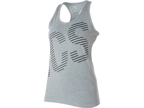 Graphic Tank Top Heather Grey 3
